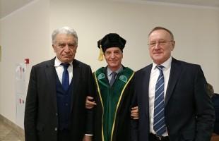 Mosca: Per Aldo Spallone arriva il titolo di Professore Onorario