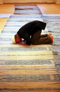 Mussulmano in preghiera