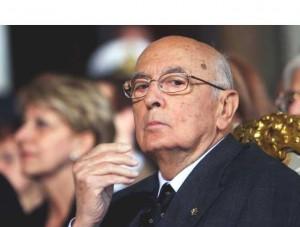ll presidente della Repubblica Giorgio Napolitano