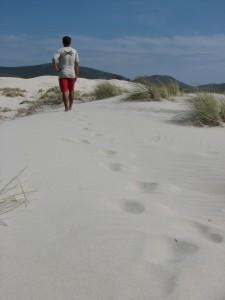 Una duna della costa sarda