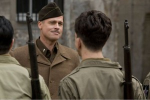 Il Tenente Aldo Raine (Brad Pitt)