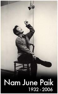 il padre della videoarte Nam-june-Paik