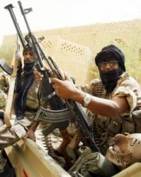 Guerriglieri Tuareg