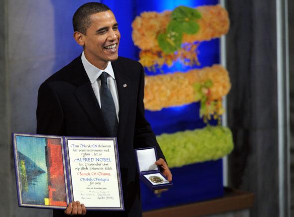 Barack Obama Nobelpreis