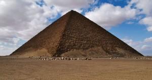 La piramide rossa del faraone Snofru