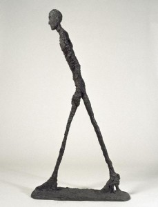 """""""L'homme qui marche"""" di Alberto Giacometti"""