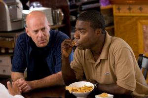 Bruce Willis e Tracy Morgan