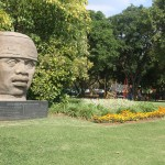 Pretoria Art Museum, replica of Colossal Olmec head