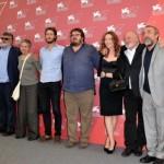 Il cast del film alla mostra del Cinema di Venezia