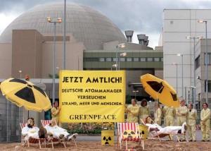 Greenpeace in azione