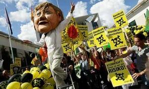 Proteste contro il nucleare in Germania