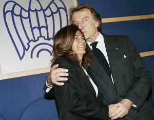 Emma Marcegaglia e Luca Cordero di Montezemolo
