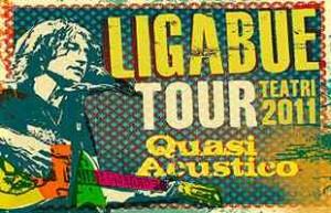 Il manifesto del tour teatrale di Ligabue, al via il 22 gennaio 2011