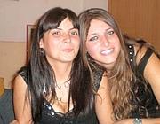 Elisa Benedetti con una sua amica
