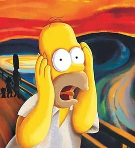 L'ansia secondo Homer Simpson