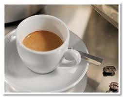 Una gustosa tazzina di caffè