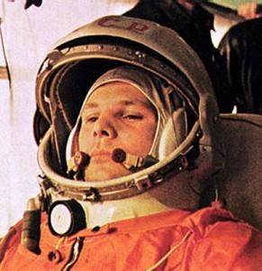 L'astronauta Gagarin