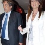 Paola Perego con il compagno Lucio Presta