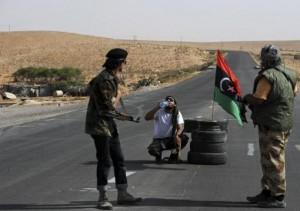 Libia - Una zona nei pressi del confine con il Niger