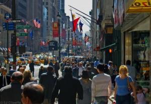 Strada di New York