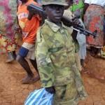 Baby soldato