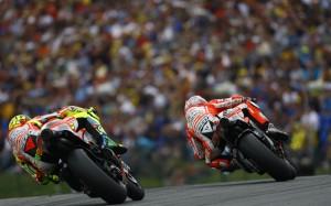 Rossi Hayden Ducati