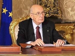 Napolitano smentisce elezioni anticipate