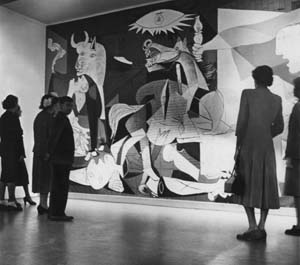 an overview of the work guernica by pablo picasso In 1904, pablo ruiz picasso is 23 years old and already establishing himself as  an  this painting serves as an introduction to cubism, a style that picasso  helped  picasso painted guernica, and it helped bring the spanish civil war to  the.