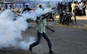 Gli scontri nella Repubblica delle Maldive dello scorso febbraio