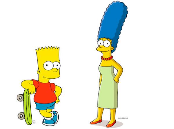 Simpson addio alle storiche voci di bart e marge wakeupnews - Marge simpson et bart ...