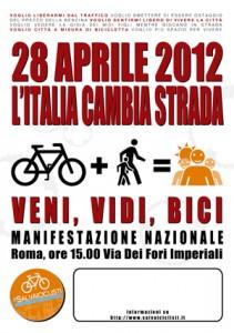 Il manifesto della bicifestazione