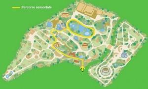 Una simpatica mappa del Bioparco