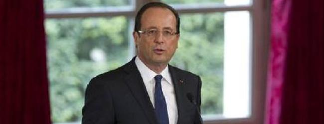 Hollande inaugurated French president