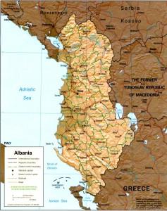 L'Albania è uno degli stati balcanici candidati a entrare nell'Unione Europea