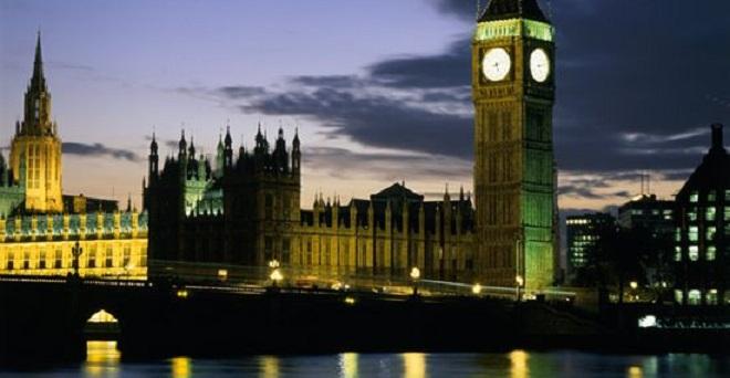 Londra Big Ben Tamigi