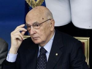 Presidente della Repubblica, Giorgio Napolitano,