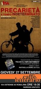 Precarietà a tempo indeterminato, Ferdinando Morabito, presentazione, cortometraggio, libro, Accursio Graffeo