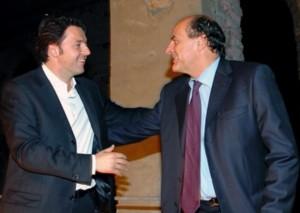 Matteo Renzi e Pierluigi Bersani
