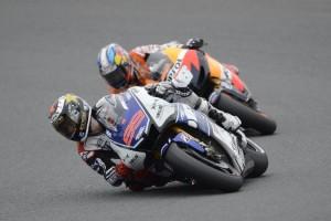 MotoGP Dani Pedrosa Jorge Lorenzo