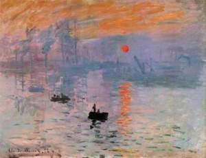 C. Monet, Impression: soleil levant, 1872