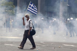 crisi grecia sciopero