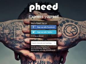 pheed nuovo social network