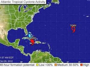 uragano sandy a cuba