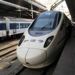 Il China Railways H5, treno da 250 km/h, è stato realizzato con i progetti dell'Etr 600 (Frecciargento)