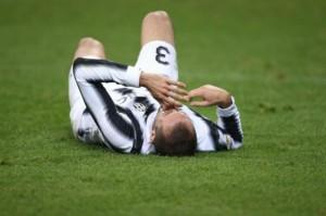 Giorgio Chiellini, fuori 3 mesi per infortunio