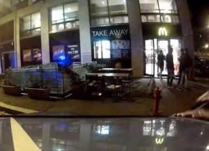 Neonato abbandonato in un McDonald's a Roma
