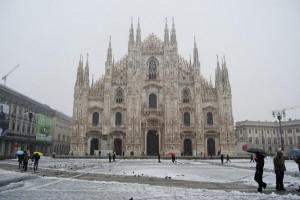 Neve maltempo Milano