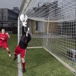 """Debutta la tecnologia sui campi di calcio con il cosiddetto """"occhio di falco"""" (www.fuchs-foto.de)"""