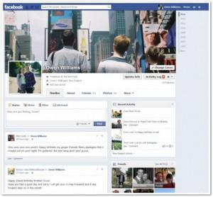 facebook nuova timeline