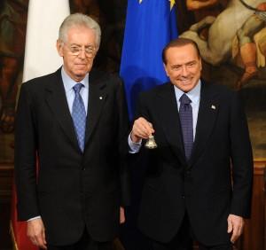 Rottura totale tra Berlusconi e Monti